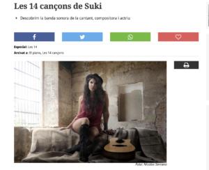 Las catorce canciones de Suki