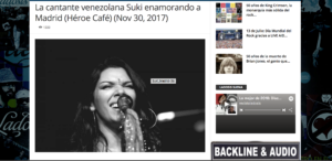 Reseña «Suki enamorando a Madrid «
