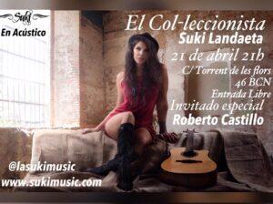 Suki en Acustico – El Col-leccionista Barcelona